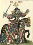 knight icon blue