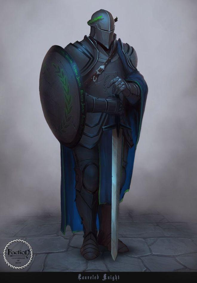 Mystery Knight: The Ivy Halo