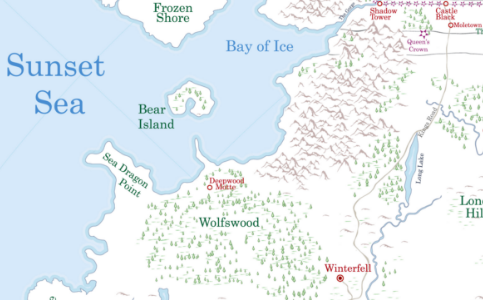 bear map