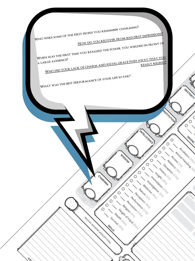 DnD Sheet Questions